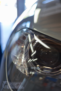 The Garage, Petaluma - BMW Projector Headlight