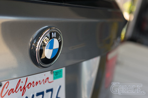 The Garage, Petaluma - BMW X5 Bavarian Blue and White Roundel